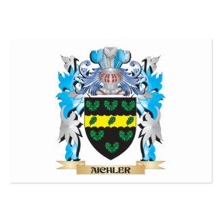 Escudo de armas de Aichler Plantilla De Tarjeta De Visita