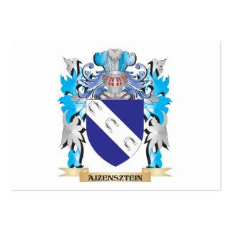 Escudo de armas de Ajzensztein Tarjetas Personales
