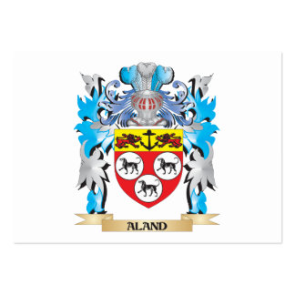 Escudo de armas de Aland Tarjeta Personal