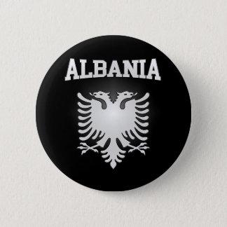 Escudo de armas de Albania Chapa Redonda De 5 Cm