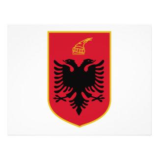 Escudo de armas de Albania Flyer Personalizado