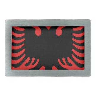 Escudo de armas de Albania Hebilla Rectangular