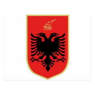 Escudo de armas de Albania Postal