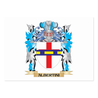 Escudo de armas de Albertini Tarjeta Personal