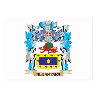 Escudo de armas de Alcantara Tarjeta De Negocio