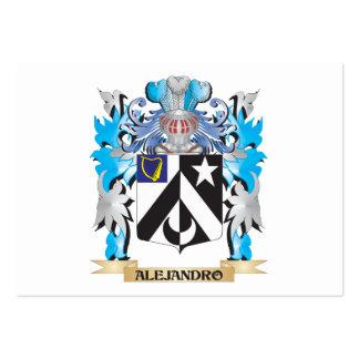 Escudo de armas de Alejandro Tarjetas Personales