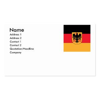 Escudo de armas de Alemania Tarjeta De Visita