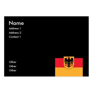Escudo de armas de Alemania Tarjetas De Visita Grandes