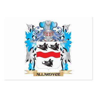 Escudo de armas de Allardyce Plantillas De Tarjetas De Visita
