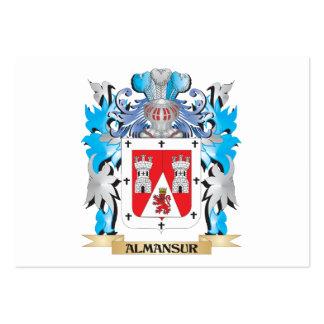 Escudo de armas de Almansur Tarjeta De Visita