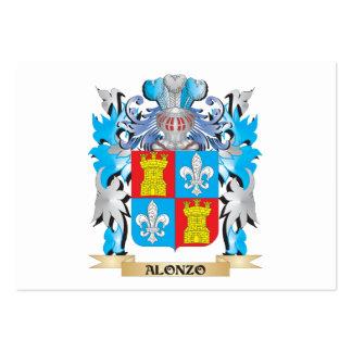 Escudo de armas de Alonzo Tarjeta De Negocio