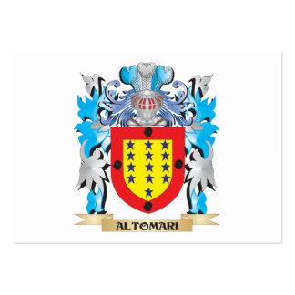 Escudo de armas de Altomari Plantillas De Tarjetas Personales
