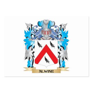 Escudo de armas de Alwine Tarjetas Personales
