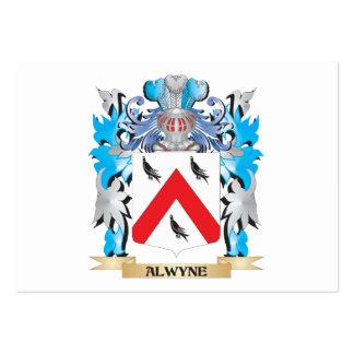 Escudo de armas de Alwyne Tarjeta Personal