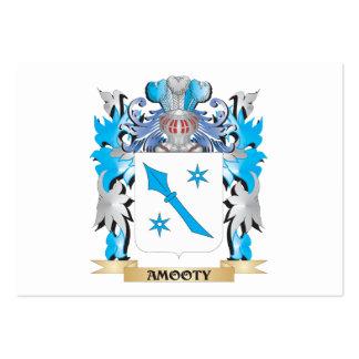 Escudo de armas de Amooty Plantillas De Tarjetas De Visita