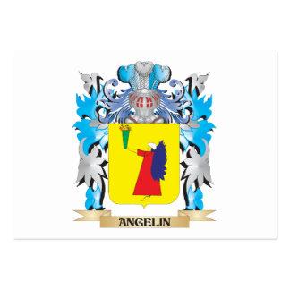 Escudo de armas de Angelin Plantilla De Tarjeta De Negocio