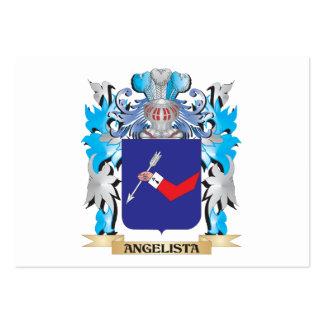 Escudo de armas de Angelista Plantilla De Tarjeta De Negocio