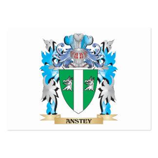 Escudo de armas de Anstey Plantillas De Tarjetas Personales