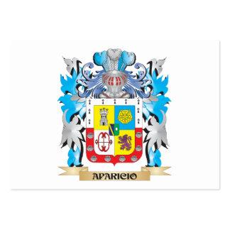 Escudo de armas de Aparicio Plantillas De Tarjetas Personales