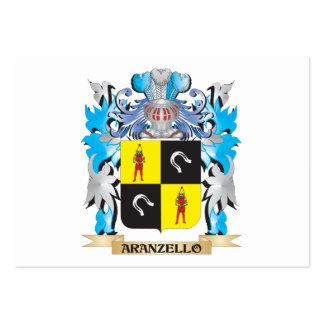 Escudo de armas de Aranzello Tarjetas Personales