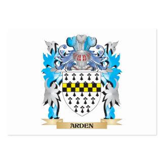 Escudo de armas de Arden Tarjeta Personal