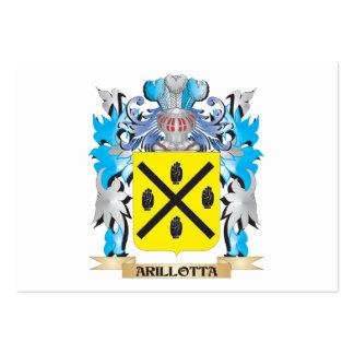 Escudo de armas de Arillotta Plantillas De Tarjetas Personales
