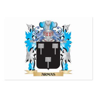 Escudo de armas de Armas Plantillas De Tarjeta De Negocio