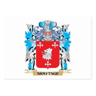 Escudo de armas de Armytage Plantillas De Tarjeta De Negocio