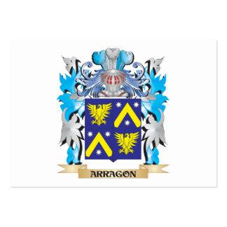 Escudo de armas de Arragon Plantillas De Tarjetas Personales