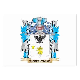 Escudo de armas de Arredondo Plantilla De Tarjeta De Negocio