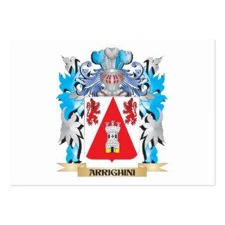 Escudo de armas de Arrighini Tarjetas Personales