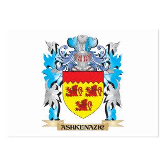 Escudo de armas de Ashkenazic Tarjetas De Negocios