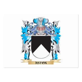 Escudo de armas de Aston Tarjeta De Visita
