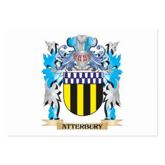 Escudo de armas de Atterbury Tarjeta De Visita
