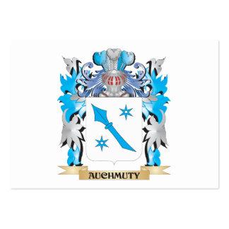 Escudo de armas de Auchmuty Plantillas De Tarjetas De Visita