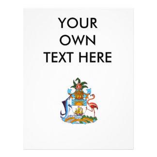 Escudo de armas de Bahamas Tarjeton