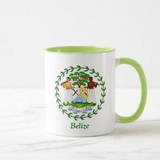 Escudo de armas de Belice Taza