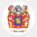 Escudo de armas de Bengtsson (escudo de la Pegatina Redonda