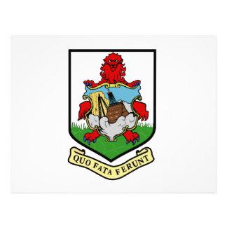 Escudo de armas de Bermudas Tarjeta Publicitaria
