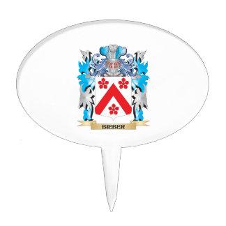 Escudo de armas de Bieber Decoraciones De Tartas
