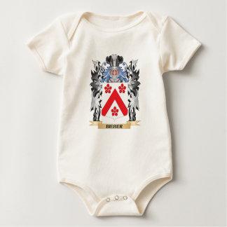 Escudo de armas de Bieber - escudo de la familia Trajes De Bebé