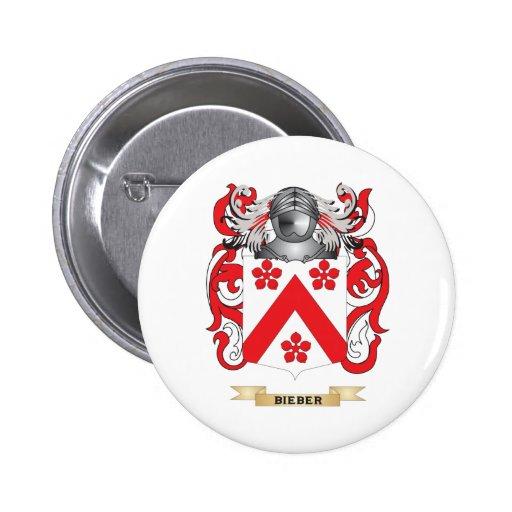 Escudo de armas de Bieber (escudo de la familia) Pins