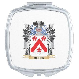 Escudo de armas de Bieber - escudo de la familia Espejo De Viaje