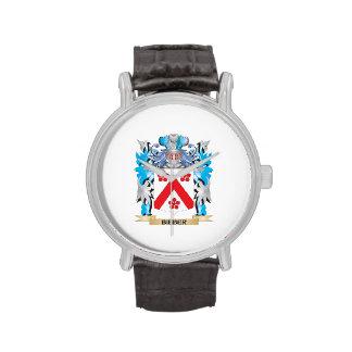 Escudo de armas de Bieber Reloj De Mano