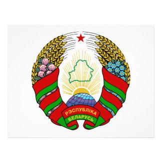 Escudo de armas de Bielorrusia Flyer Personalizado