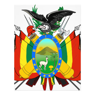 Escudo de armas de Bolivia Flyer Personalizado