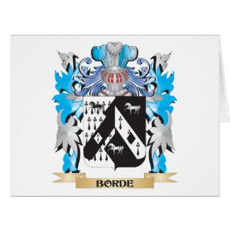 Escudo de armas de Borde
