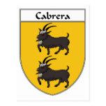 Escudo de armas de Cabrera/escudo de la familia