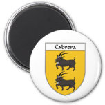 Escudo de armas de Cabrera/escudo de la familia Iman De Frigorífico