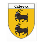 Escudo de armas de Cabrera/escudo de la familia Postal